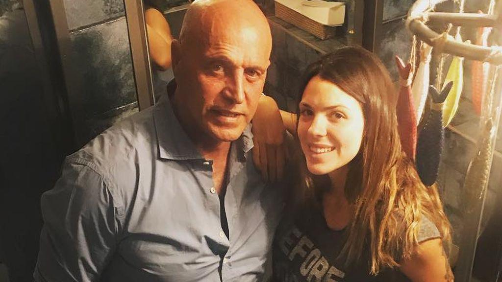 Laura Matamoros tira de orgullo de hija para apoyar a su padre