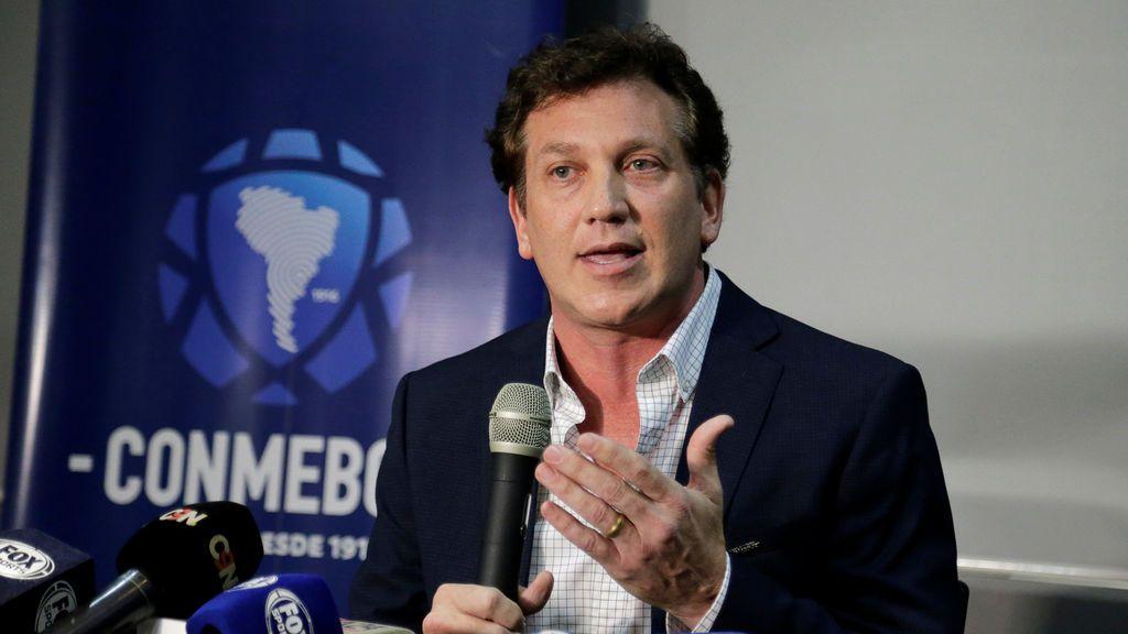 """Alejandro Domínguez, presidente de la CONMEBOL: """"El partido se va a hacer en Madrid, es irreversible"""""""