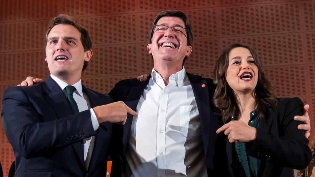 """Albert Rivera: """"Vamos a echar al PSOE de la Junta"""""""