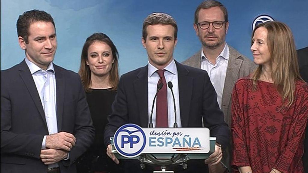 Casado anuncia que el PP liderará el cambio en Andalucía
