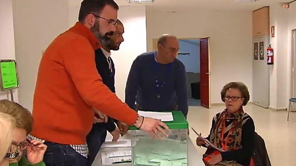 Comienza el recuento de votos en Andalucía