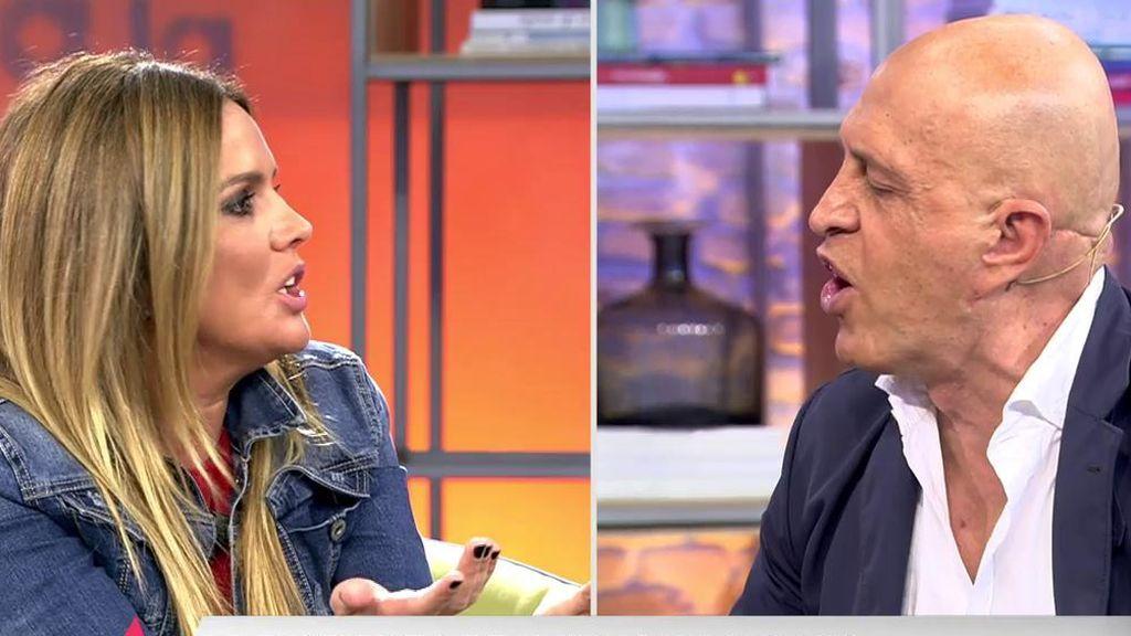 El enfrentamiento entre Kiko y Marta López arranca el aplauso del público para la colaboradora