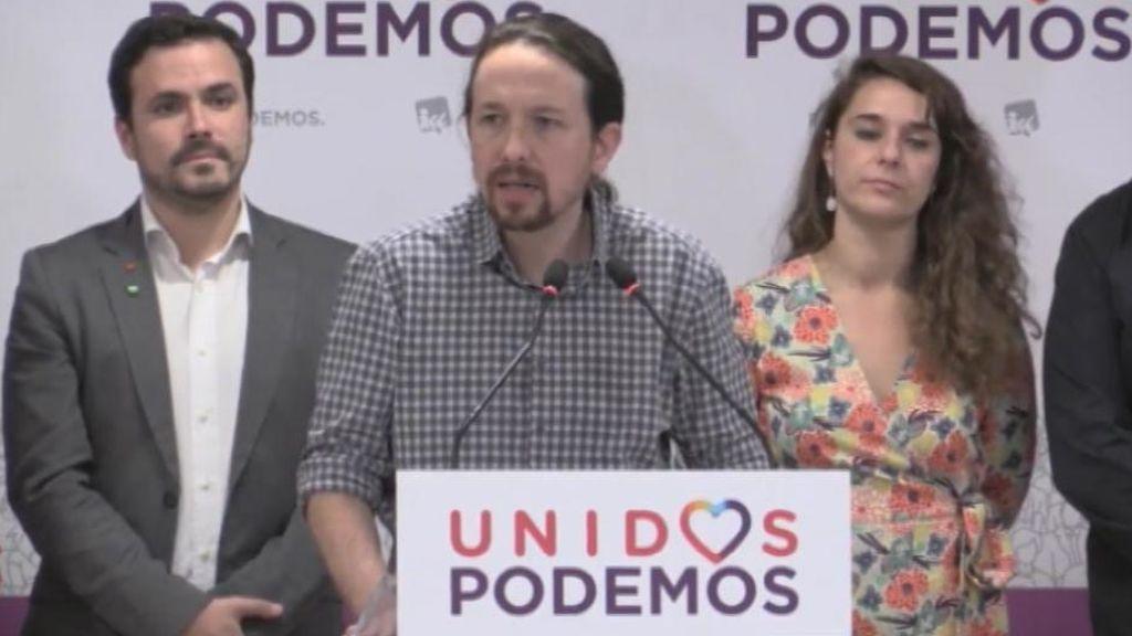 Iglesias pide la creación de un frente antifascista