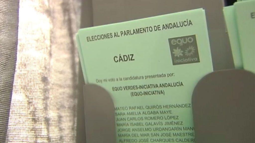 Incidentes en Sanlúcar de Barrameda con las papeletas de Equo: los colegios cerrarán a las 21:30h