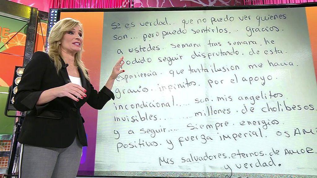 """""""Infantil"""" y """"obsesiva"""": Irene López Asor analiza la carta y personalidad de Miriam Saavedra"""