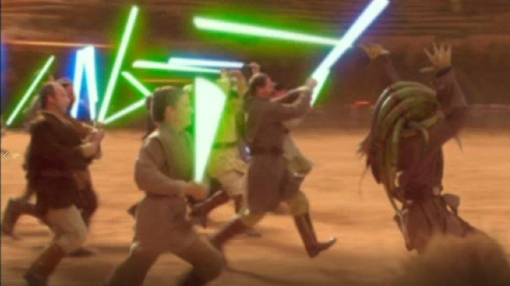 Defiende la galaxia del malvado Dooku el viernes a las 22:·30 en 'Star Wars, el ataque de los clones'