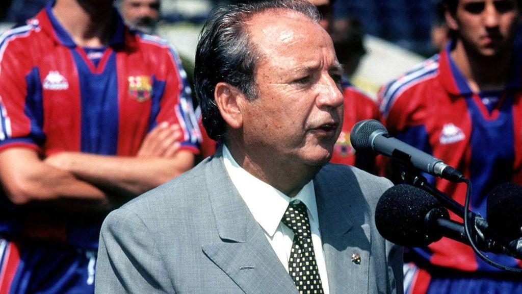 Muere Jose Luis Núñez, ex presidente del Barça, a los 87 años