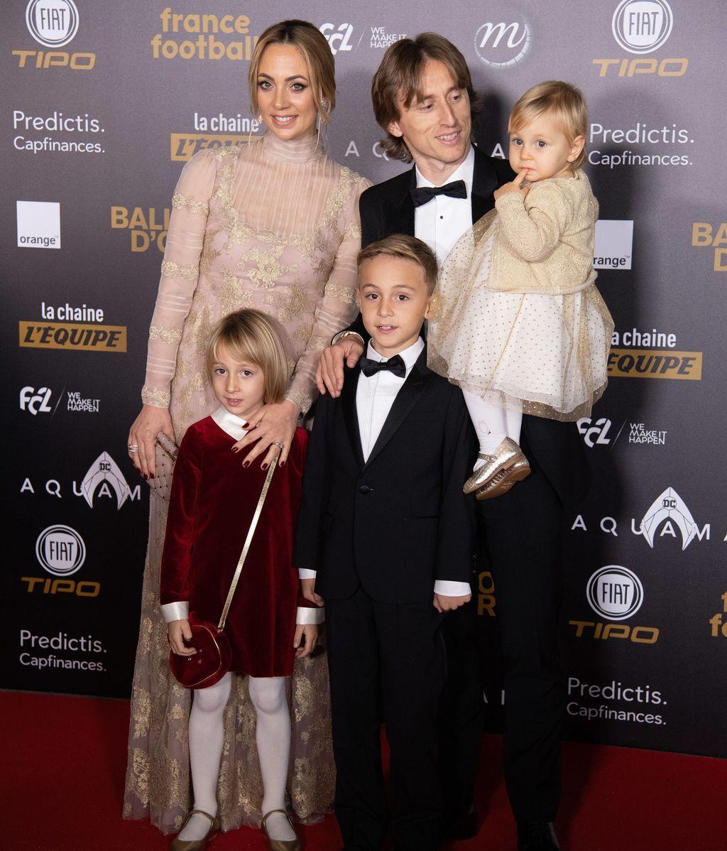 Modric y su familia