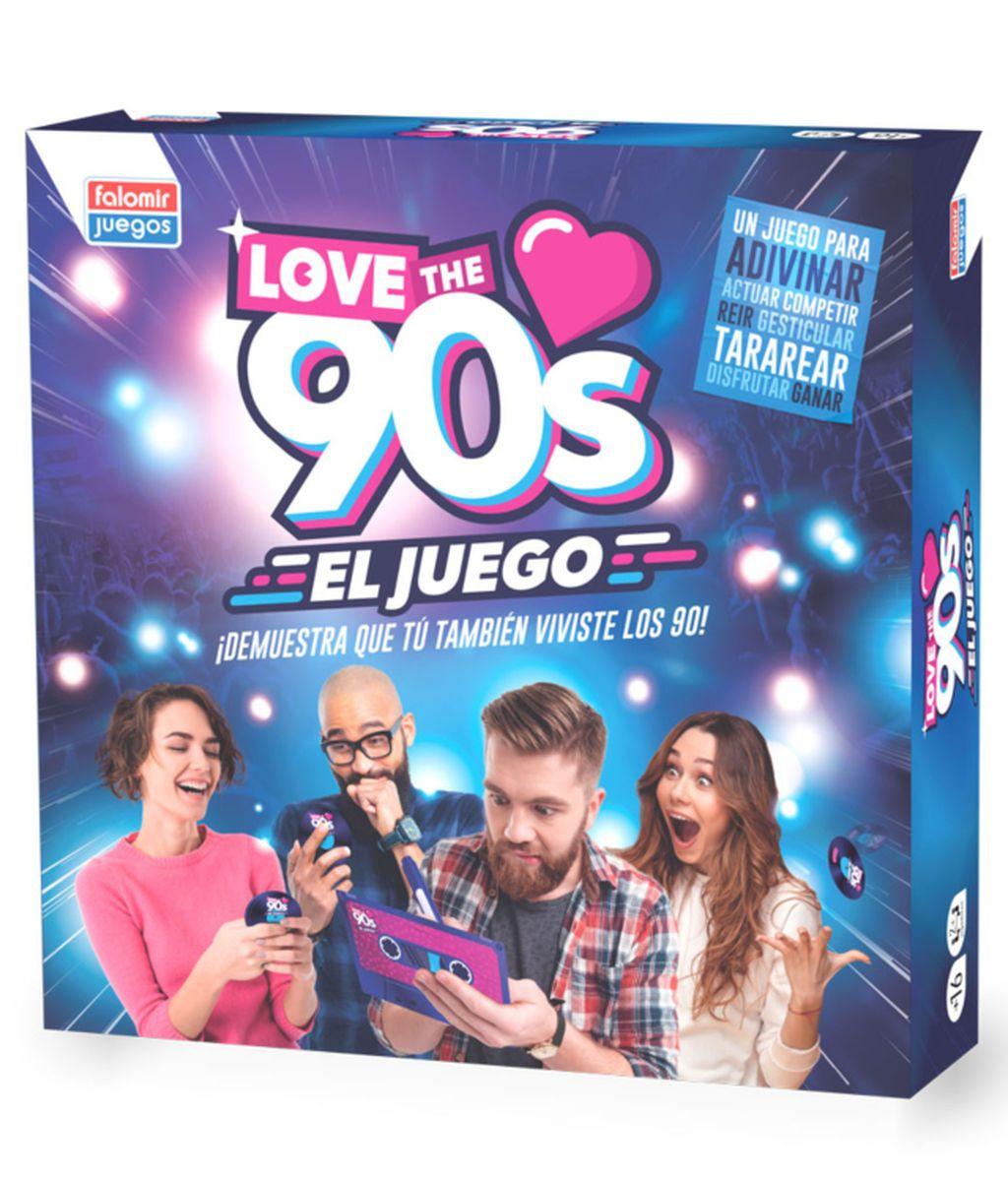 Revive Los 90 Con El Juego De Mesa Oficial De Love The 90s