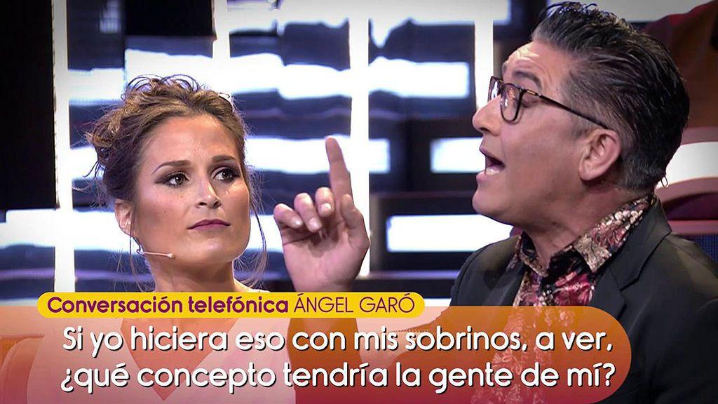 """Ángel Garó ataca duramente a Verdeliss: """"Ella se dedica a negociar con sus hijos"""""""