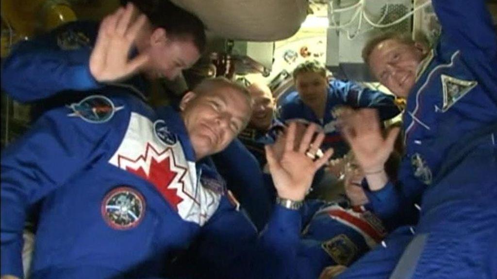 La Soyuz llega a la ISS después de un viaje fallido