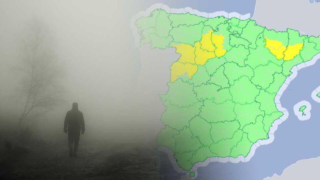 Ojo con la niebla: hay avisos en 7 provincias por visibilidad reducida