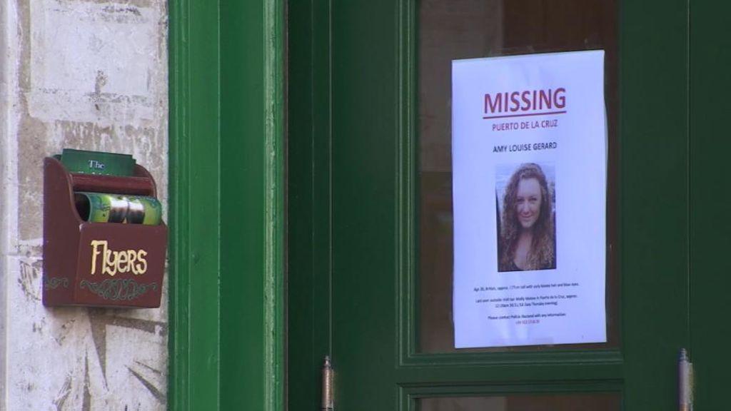 Rescaten en Tenerife el cuerpo de Amy Louise, la británica desaparecida desde el jueves