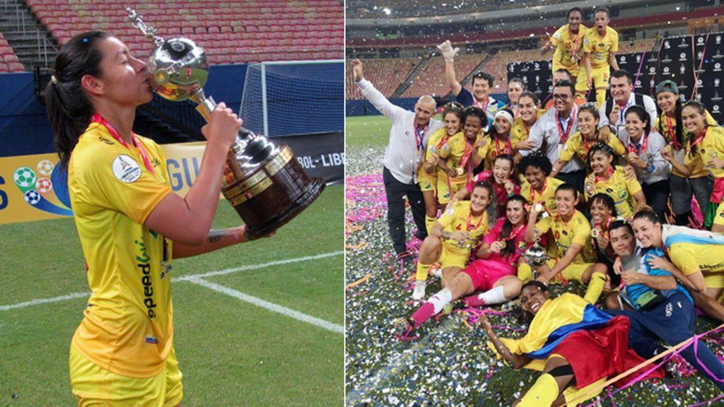 Una futbolista del Atlético Huila femenino denuncia que el dinero por ganar la Libertadores se lo llevó el equipo masculino