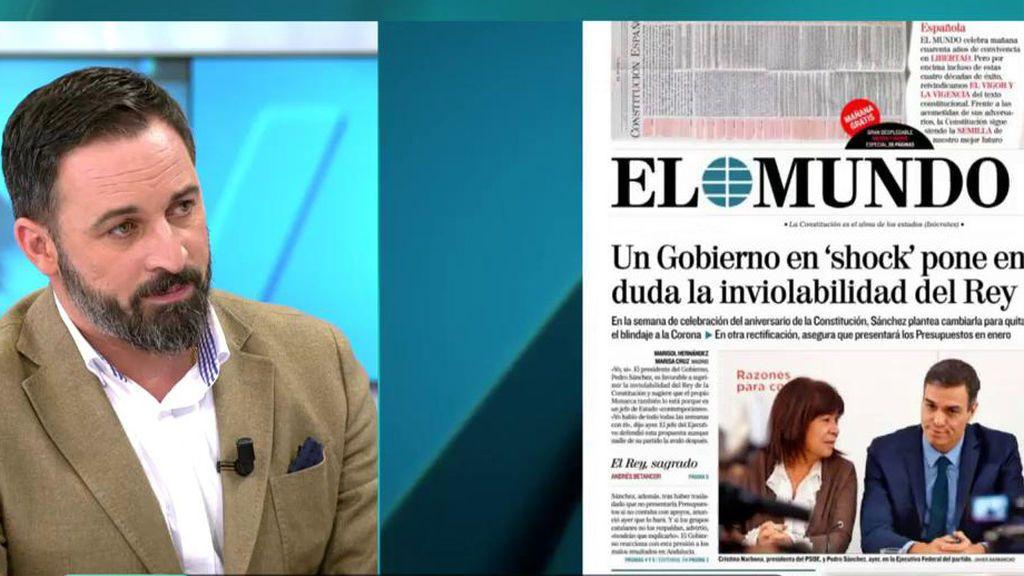 La Entrevista Completa De Santiago Abascal Líder De Vox El