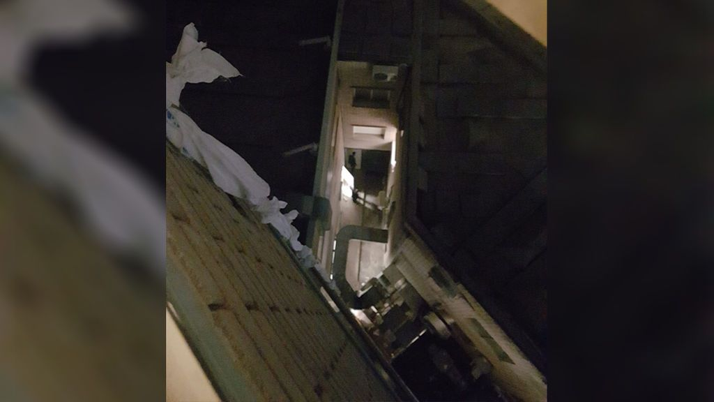 Un preso se fuga por la ventana de un hospital de Madrid con sábanas entrelazadas