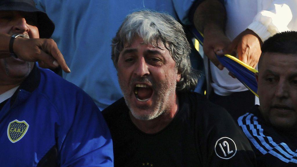 Di Zeo, líder de la barra brava de Boca Juniors, recibe el permiso de Argentian para viajar a Madrid