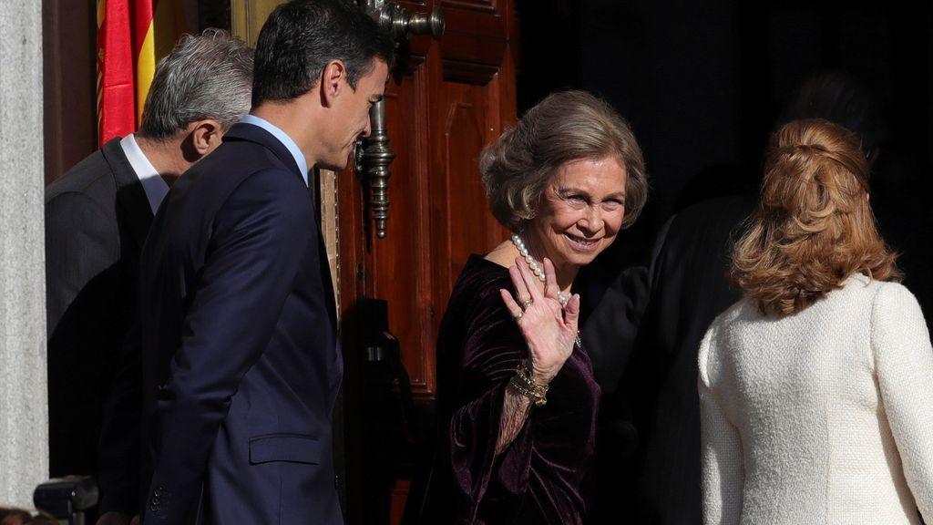 La reina Sofía
