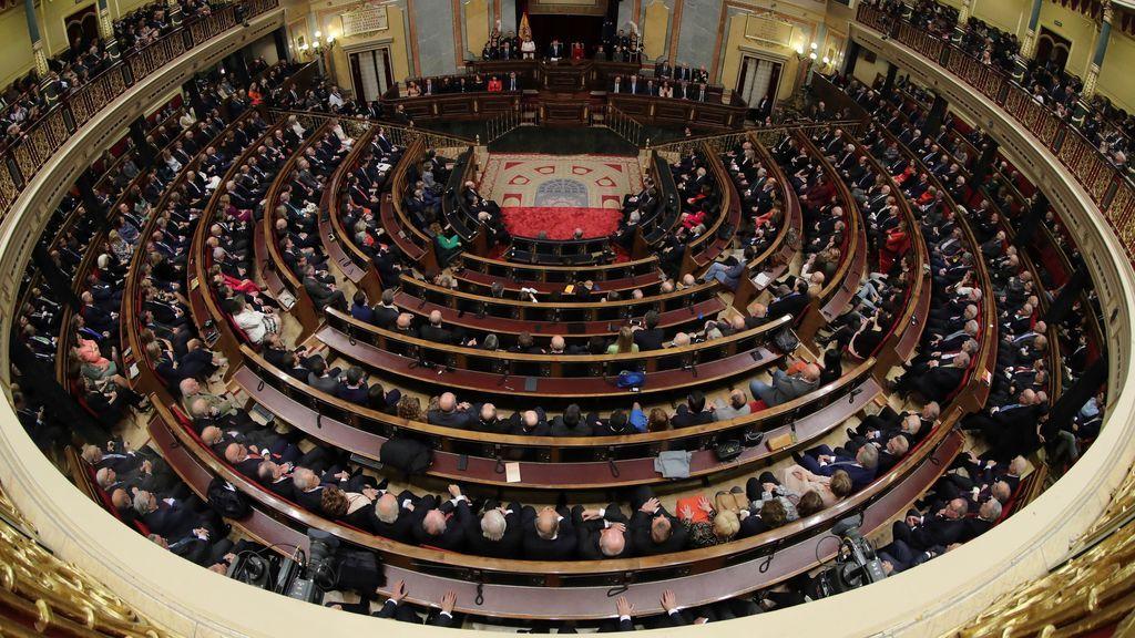 Acto de homenaje a la Constitución
