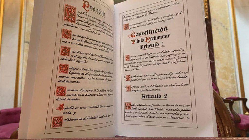 La Constitución, en datos