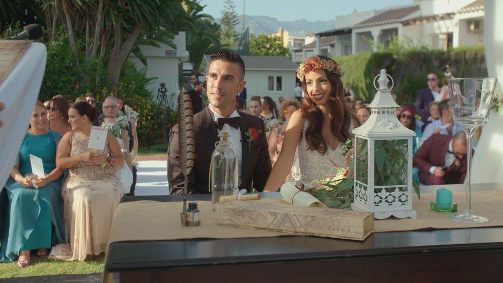 Boda de Alejandra y José Luis en 'Cuatro weddings'.