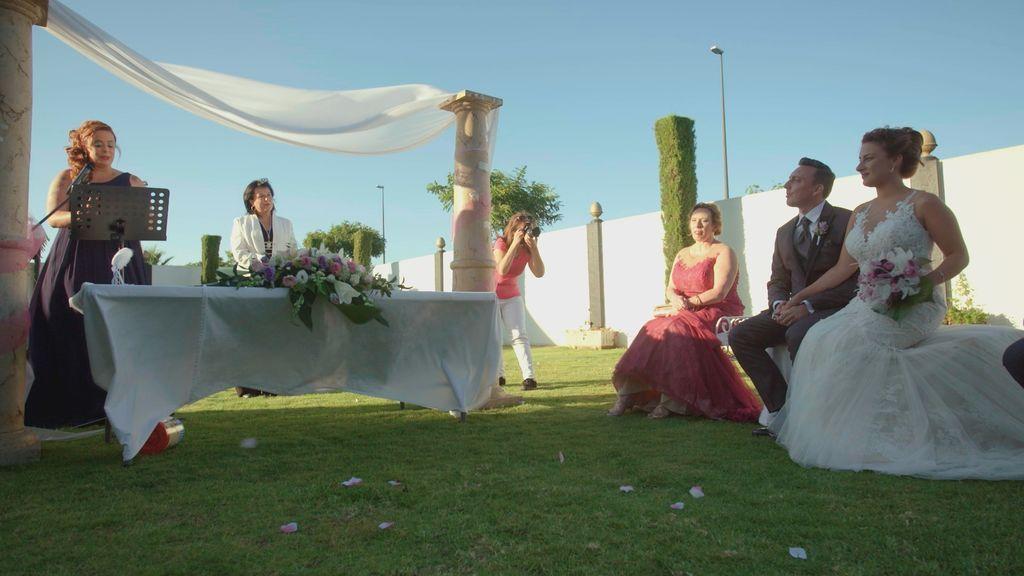 Boda de Mirian y Diego en 'Cuatro weddings'.