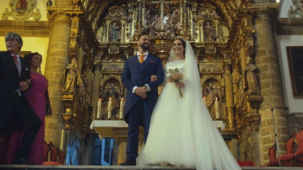 Boda de Sara y Juanjo en 'Cuatro weddings'.