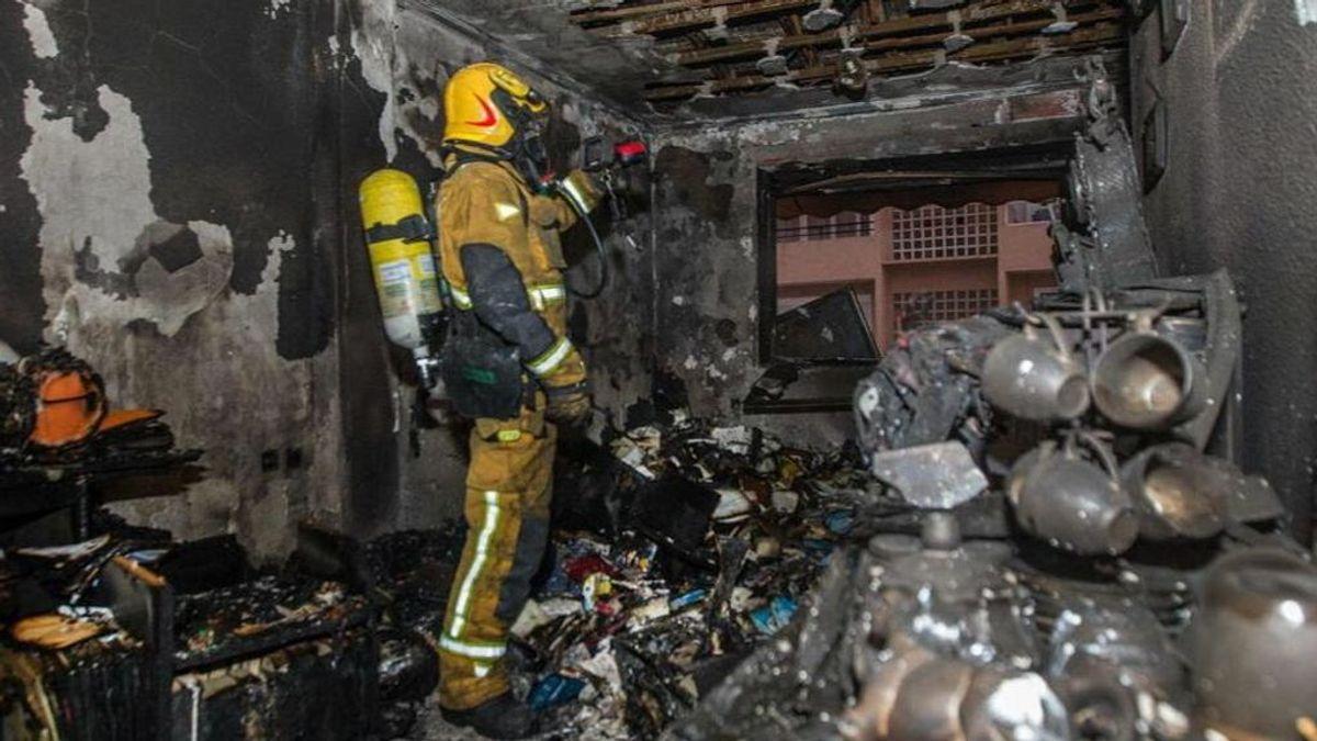 Dos muertos en el incendio de su vivienda en San Juan (Alicante)