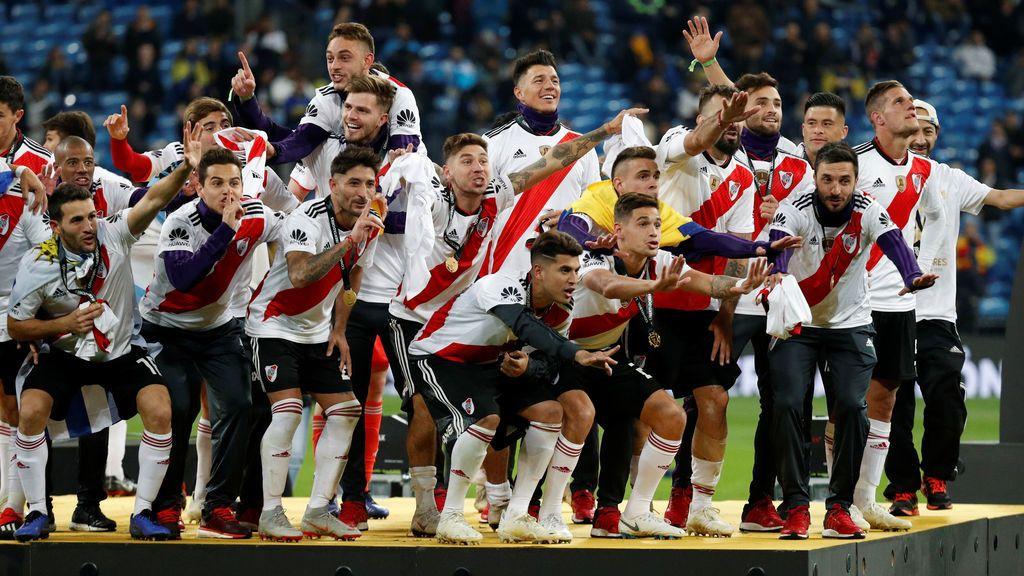 Griezmann, Casillas, Falcao… las felicitaciones a River Plate tras ganar la Libertadores ante Boca Juniors