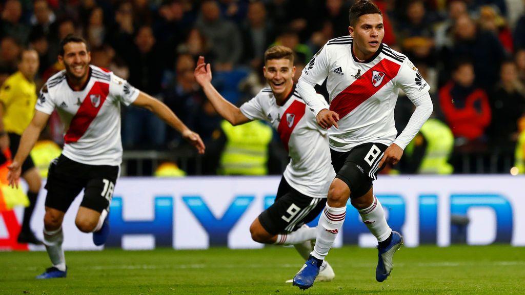 River Plate gana la Libertadores del Bernabéu a Boca Juniors con un gol de Qunitero en la prórroga y más corazón que juego