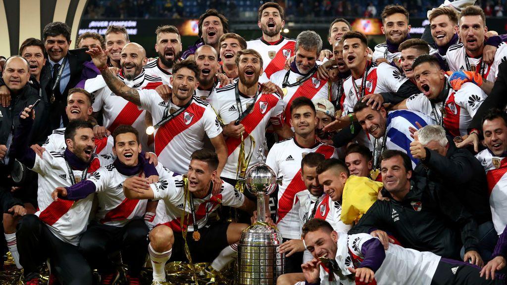 River Plate gana la Libertadores del Bernabéu a Boca Juniors con un golazo de Quintero en la prórroga y más corazón que juego (3-1)