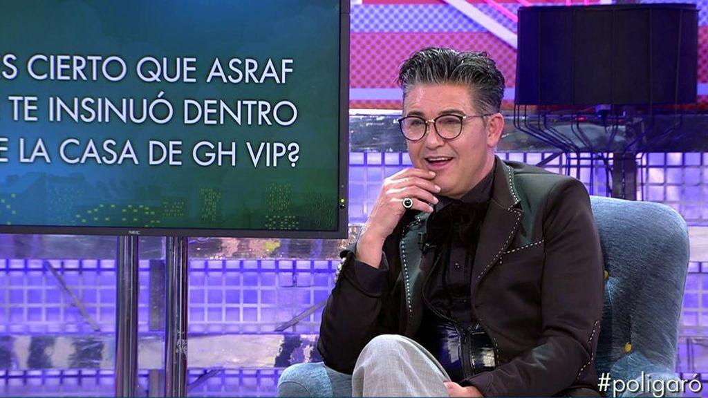El polígrafo de Conchita desvela que Asraf se le insinuó a Ángel Garó en 'GH VIP'
