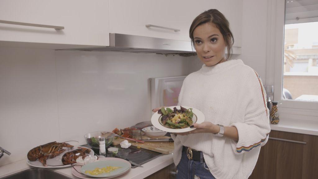Gloria Camila, anfitriona en 'Ven a cenar conmigo, gourmet edition'.