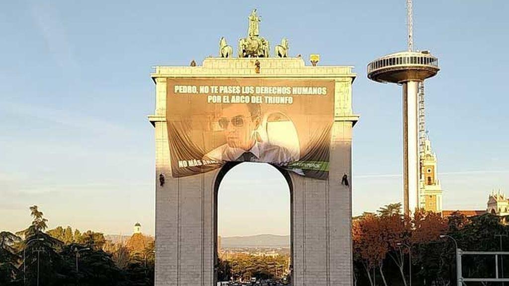 """""""Pedro, no te pases los derechos humanos por el arco del triunfo"""""""