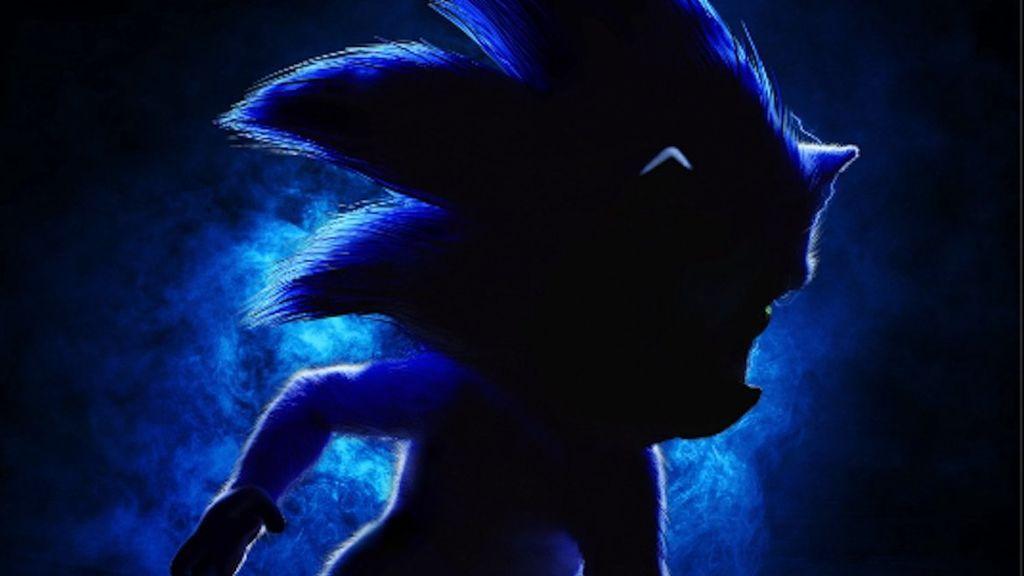 La curiosa ilusión óptica que se esconde tras el primer póster de la película de 'Sonic'