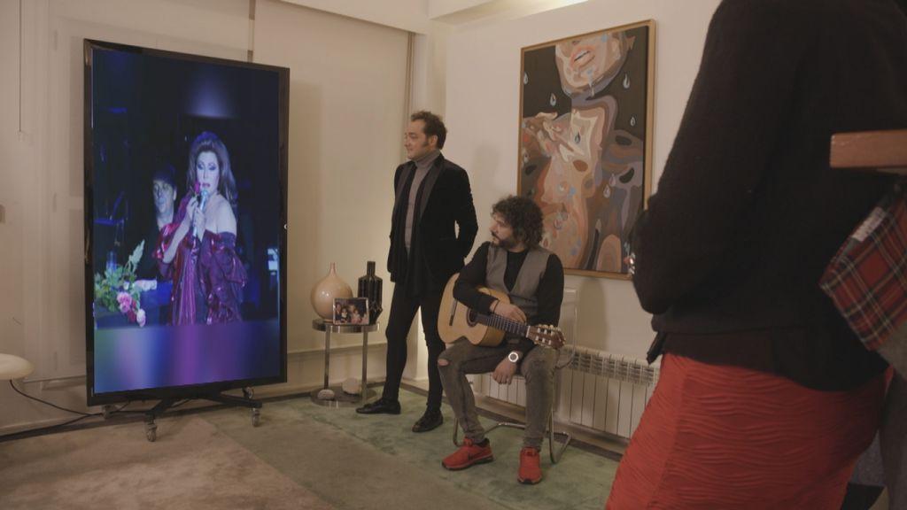Cena de Gloria Camila en 'Ven a cenar conmigo, gourmet edition'.