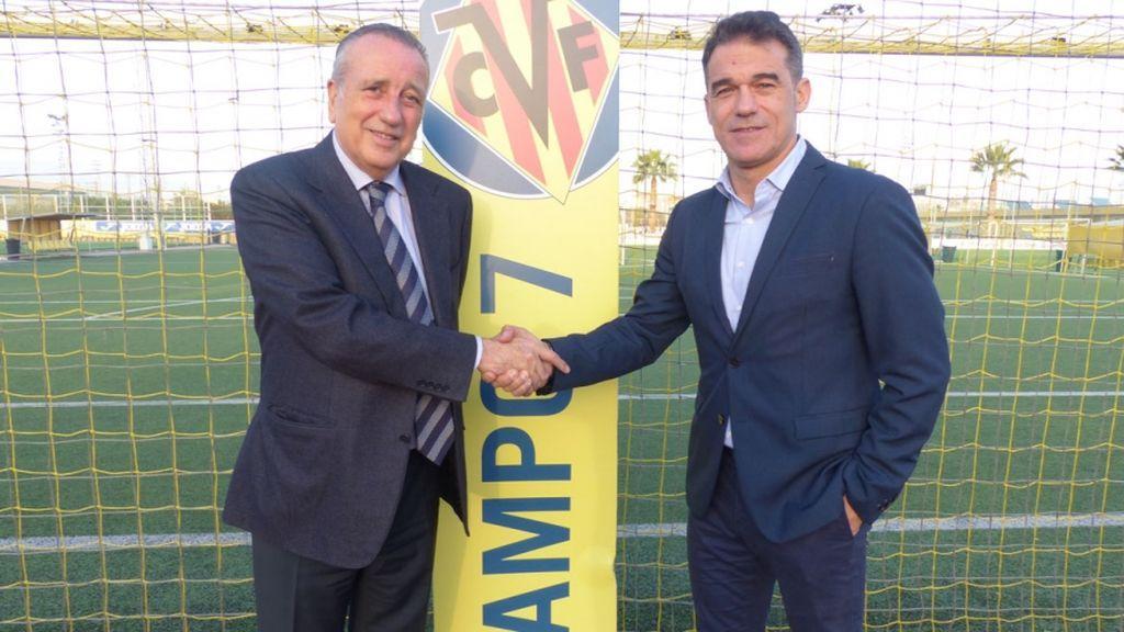 Luis García Plaza, nuevo entrenador del Villarreal CF