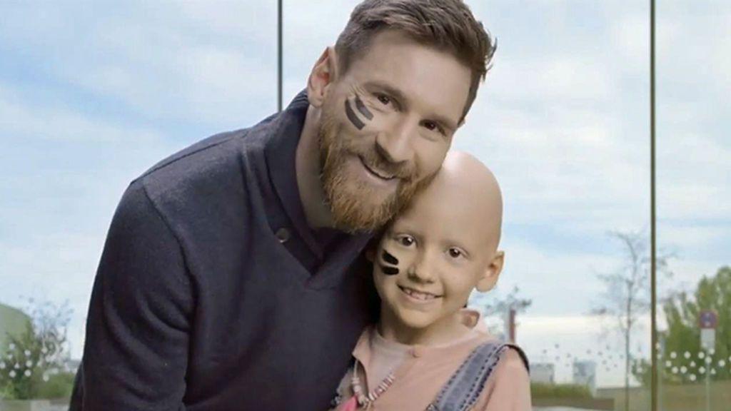 El emotivo vídeo con el que los niños de un centro oncológico infantil dan las gracias a Messi por financiar las obras de su nuevo hospital