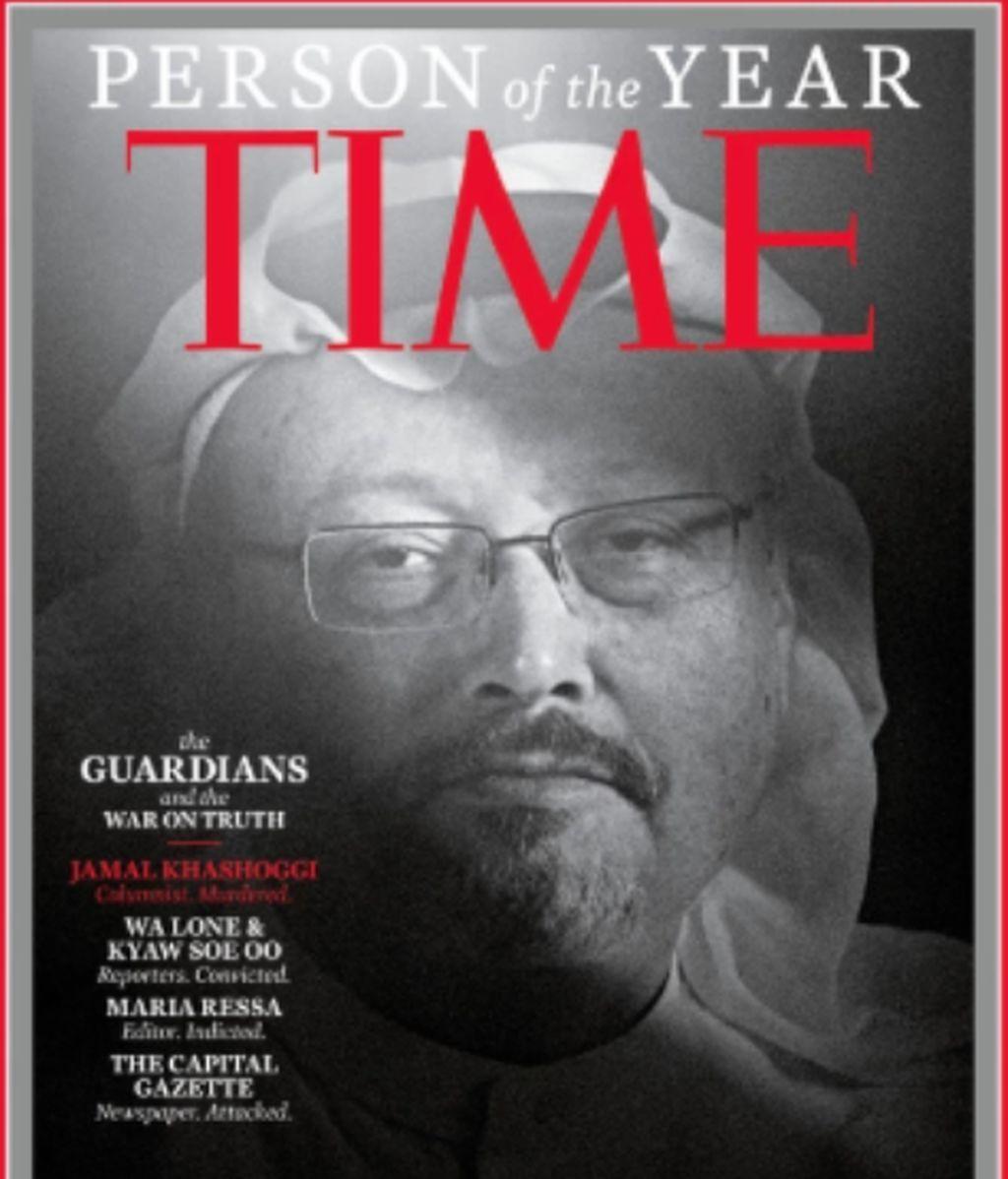 Khashoggi, personaje del año para la revista Time