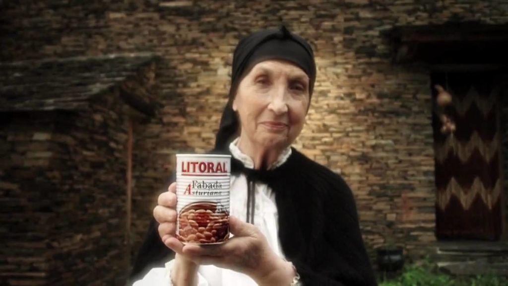 Antonia Cruells fue imagen de Fabada Litoral.