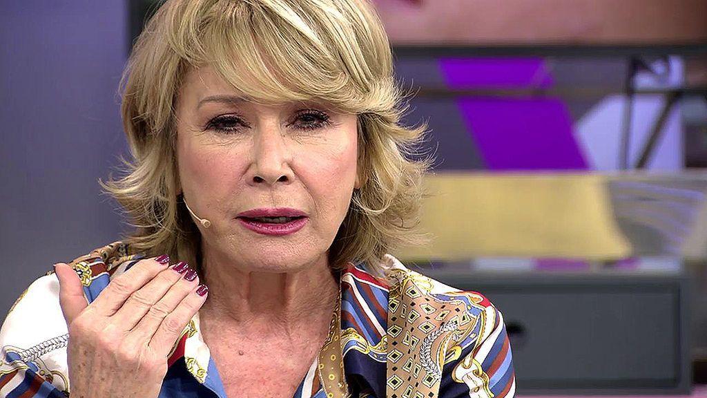 """Mila, muy crítica con Matamoros: """"Lo que hiciste con tu hijo fue deleznable, lo peor que he visto en televisión"""""""