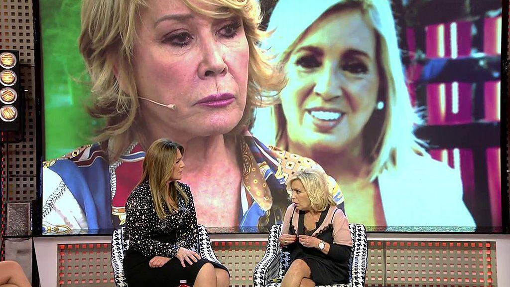 Carmen Borrego zanja su polémica con Mila Ximénez y asume su error