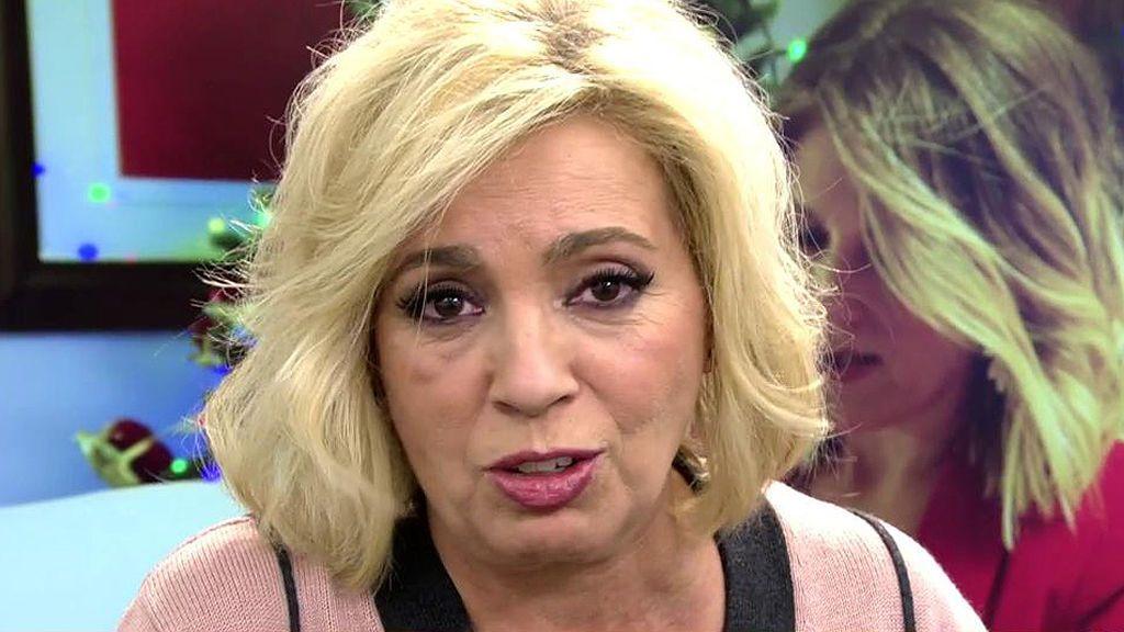Carmen Borrego rompe su silencio tras la polémica con Mila Ximénez