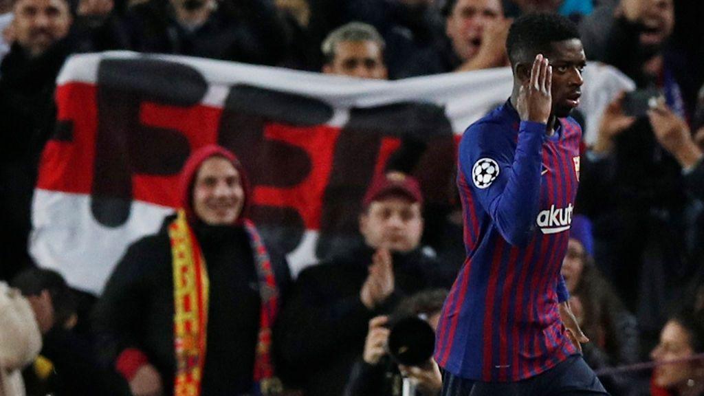 El Barça empata con el Tottenham (1-1) y Dembelé despierta con un golazo de genio