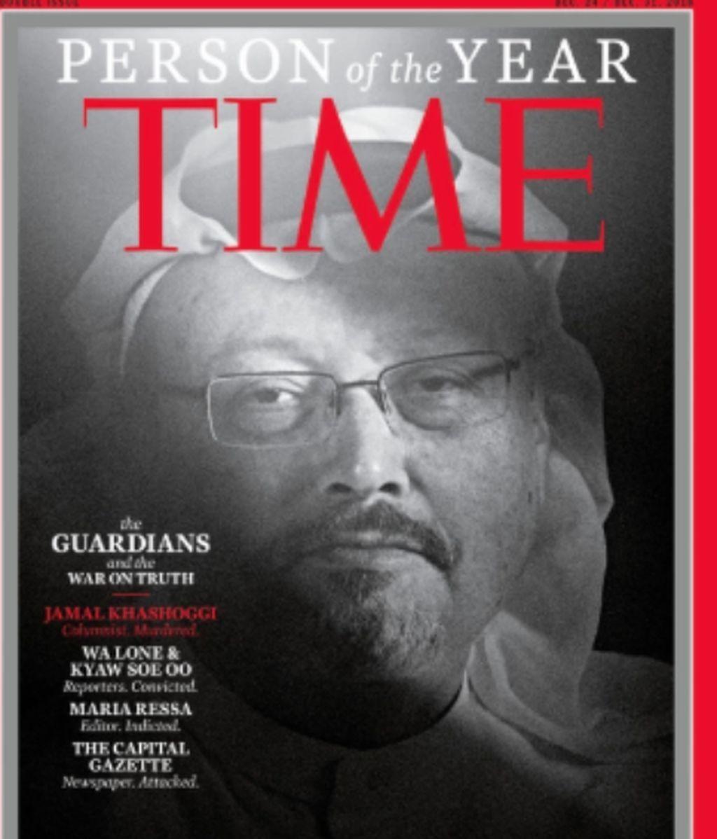 Por primera vez una persona muerta: Khashoggi, personaje del año para la revista Time