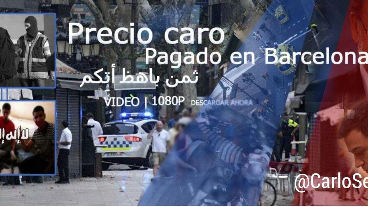 Un vídeo proyihadista amenaza de nuevo a Barcelona como objetivo para atentar