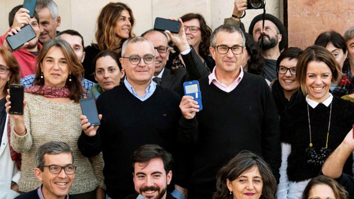 Los periodistas del Diario de Mallorca