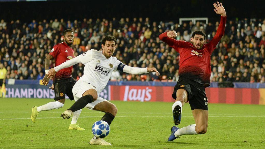 El Valencia cierra su paso por la Champions con un triunfo ante el United  (2-0)