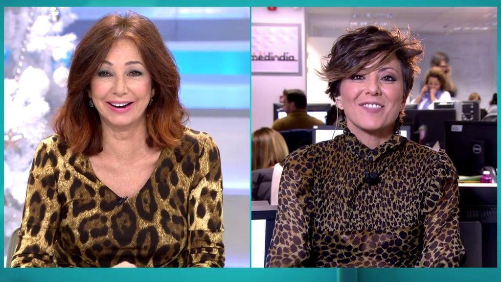 """Las risas de Ana Rosa y Sonsoles Ónega por su estilismo: """"Para que nos metan en una jaula"""""""