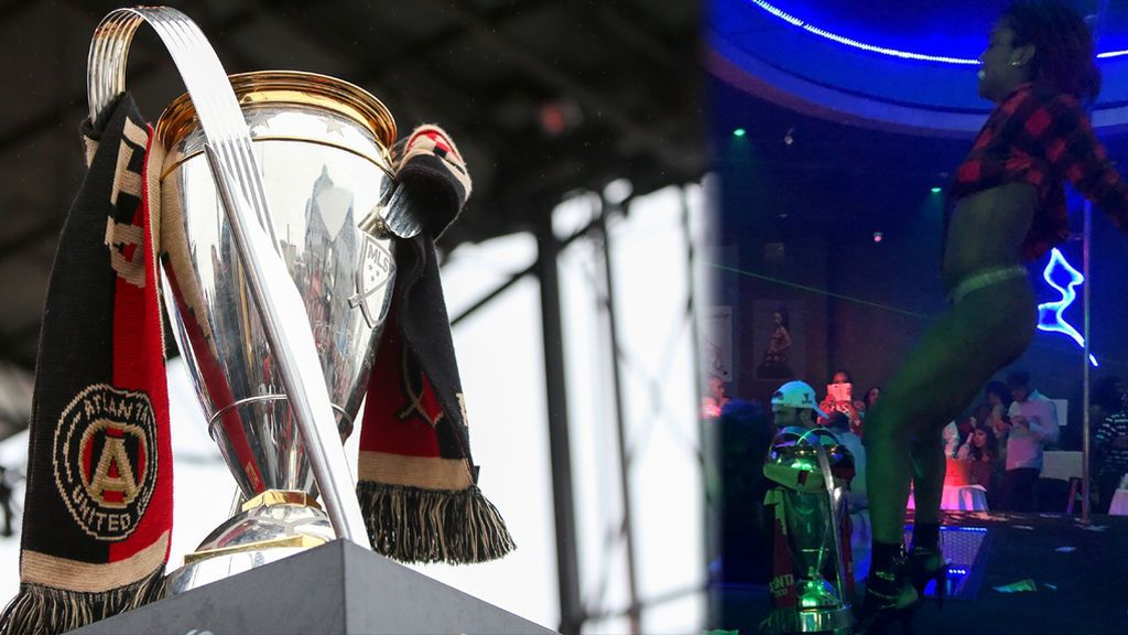 Strippers sobre la Copa de la MLS: la polémica celebración del Atlanta United del Tata Martino